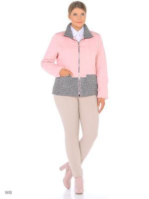 Куртка GRACE.. Цвет: розовый