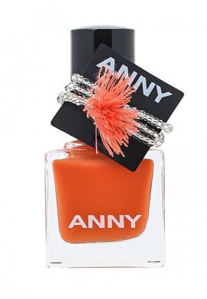 Лак для ногтей Anny. Цвет: оранжевый