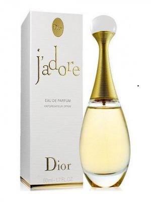 Jadore, Парфюмерная вода, 50 мл CHRISTIAN DIOR. Цвет: белый, золотистый