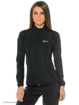 Ветровка Woven Jacket ASICS. Цвет: черный