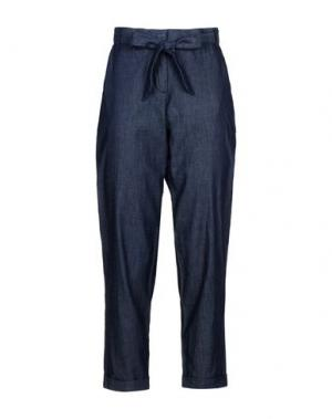 Джинсовые брюки PEOPLE TREE. Цвет: синий