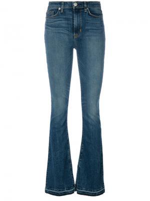 Слегка расклешенные джинсы Hudson. Цвет: синий