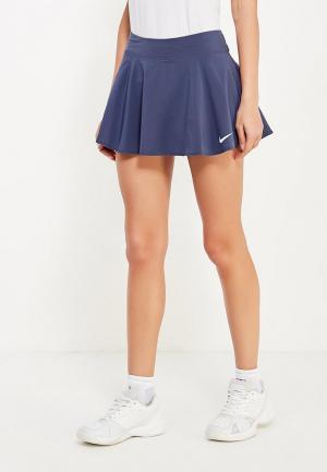Юбка-шорты Nike. Цвет: серый