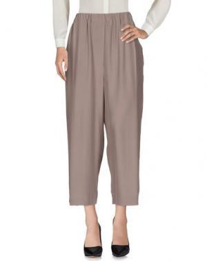 Повседневные брюки N_8. Цвет: голубиный серый
