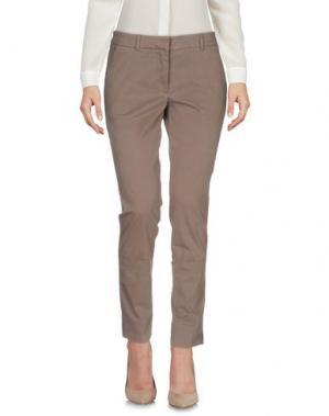 Повседневные брюки ROSSOPURO. Цвет: светло-коричневый