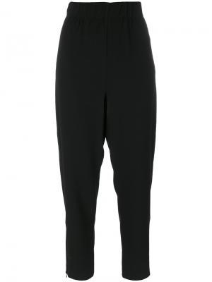 Свободные брюки Ganni. Цвет: чёрный