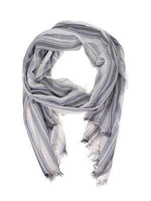 Палантин Migura. Цвет: черный, белый, сиреневый