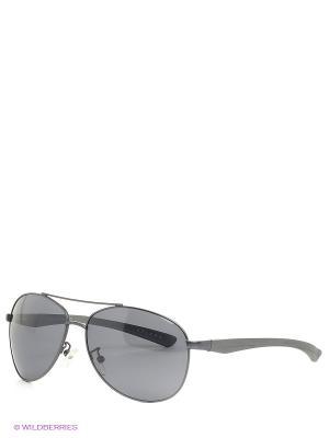 Солнцезащитные очки Selena. Цвет: темно-серый, черный