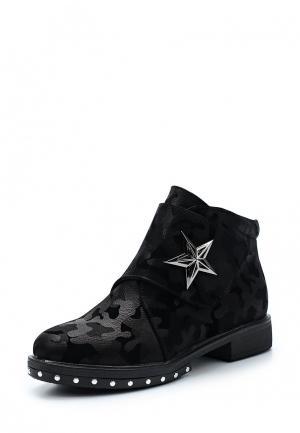 Ботинки Saivvila. Цвет: черный