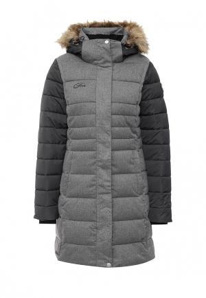 Куртка утепленная FIVE seasons. Цвет: серый