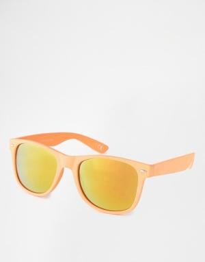 Trip Солнцезащитные очки в стиле ретро. Цвет: зеленый