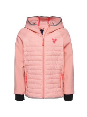 Куртка TOM TAILOR. Цвет: розовый