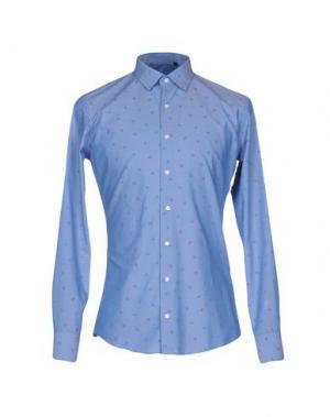 Pубашка SSEINSE. Цвет: лазурный