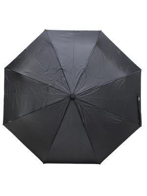 Зонт Bisetti. Цвет: черный, серый