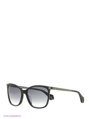 Солнцезащитные очки VW 880S 02 Vivienne Westwood. Цвет: серый, черный