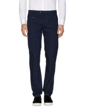 Повседневные брюки NOVEMB3R. Цвет: темно-синий