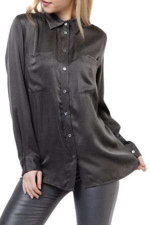 Блузка REPEAT. Цвет: dark grey