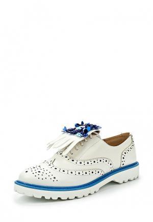Ботинки Catisa. Цвет: белый