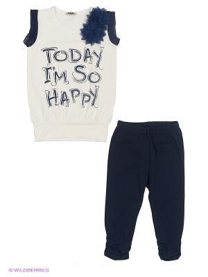 Комплект одежды M&DCollection. Цвет: темно-синий
