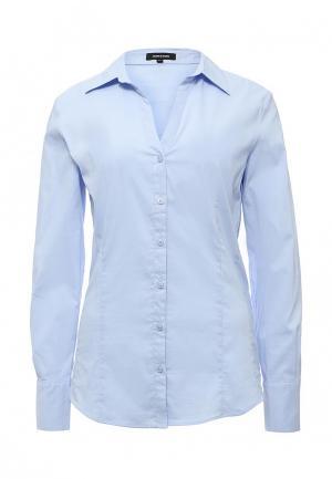 Рубашка More&More. Цвет: голубой