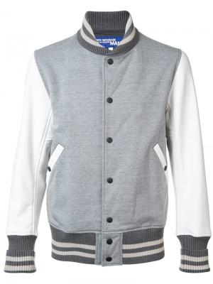 Куртка-бомбер Junya Watanabe Comme Des Garçons Man. Цвет: серый