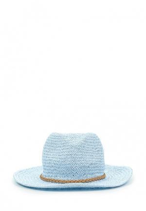 Шляпа Zarina. Цвет: голубой