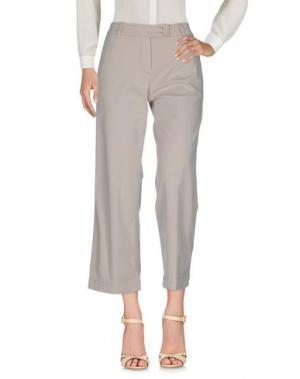 Повседневные брюки BRUNO MANETTI. Цвет: бежевый