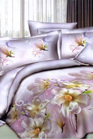 Постельное белье 2,0 сп. 70x70 Patrizia. Цвет: розовый