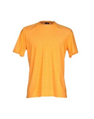 Футболка YOON. Цвет: оранжевый