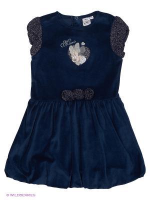 Платье Sun City. Цвет: синий, серебристый