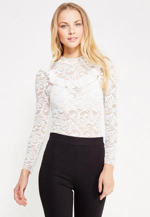 Блуза Zeza. Цвет: белый