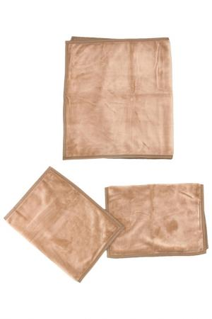Дорожка для дивана MIKRONESSE. Цвет: коричневый