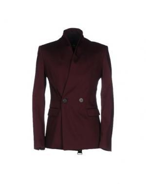 Пиджак TOM REBL. Цвет: красно-коричневый