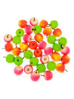 Счетный материал. Яблочки. Ассорти. Развивающий набор. 36 элементов АНДАНТЕ. Цвет: красный, розовый, светло-зеленый