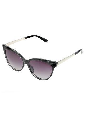 Солнцезащитные очки. Bijoux Land. Цвет: черный, синий