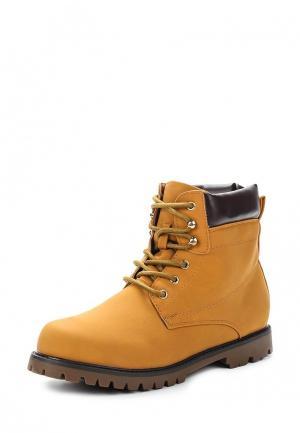Ботинки L.Day. Цвет: желтый