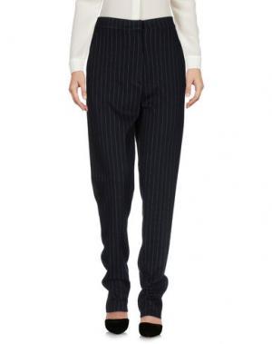 Повседневные брюки ROBERTO COLLINA. Цвет: темно-синий
