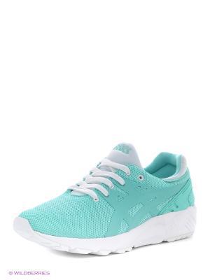 Спортивная обувь GEL-KAYANO TRAINER EVO ASICSTIGER. Цвет: белый, светло-зеленый