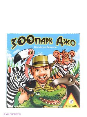Настольная игра Зоопарк Джо Piatnik. Цвет: голубой