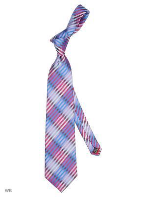 Галстук Stilmark. Цвет: бордовый, голубой, лиловый