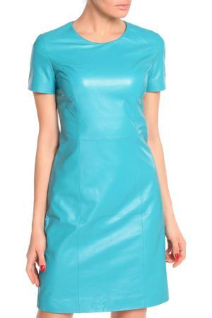 Платье Izeta Street. Цвет: бирюзовый