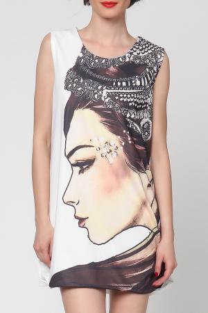Платье Grazia. Цвет: белый