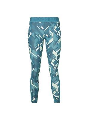 Тайтсы BASE GPX 7/8 TIGHT ASICS. Цвет: синий, бирюзовый
