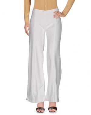 Повседневные брюки MUGLER. Цвет: белый