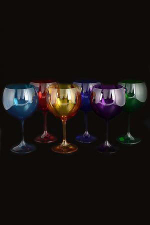 Набор бокалов для вина 460 мл Crystalite Bohemia. Цвет: прозрачный