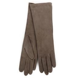 Перчатки  CELIA/SUED/W серовато-коричневый AGNELLE