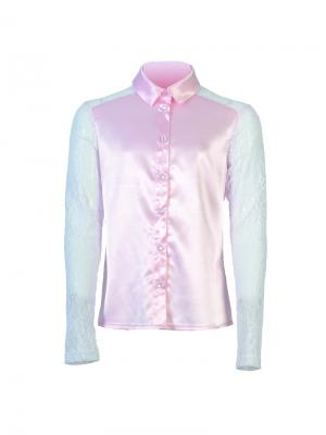 Блузка Stillini. Цвет: розовый