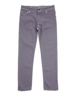 Джинсовые брюки JACOB COHЁN JUNIOR. Цвет: сиреневый