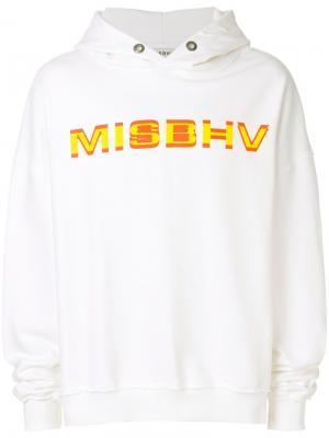 Толстовка с принтом-логотипом Misbhv. Цвет: белый