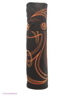 Сумка для коврика Ako-Yoga. Цвет: оранжевый